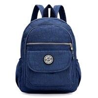 Mini Casual Women Nylon Backpack Fashion Small Backpack For Teenage Girls Bolsa Mochila Feminina Waterproof Women