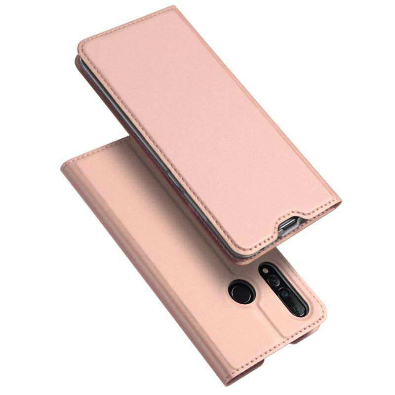 Original Dux Ducis Pu Leather Case For Huawei Nova 4 Coque Nova4 Luxury Thin Flip Wallet Cover For Huawei Nova 4 Cases Housing in Flip Cases from Cellphones Telecommunications