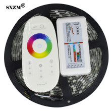 SXZM 2.4G RGBW led controller +RGBW led strip waterproof 5M 300led 5050 led strip light  DC12V flexible led bar light