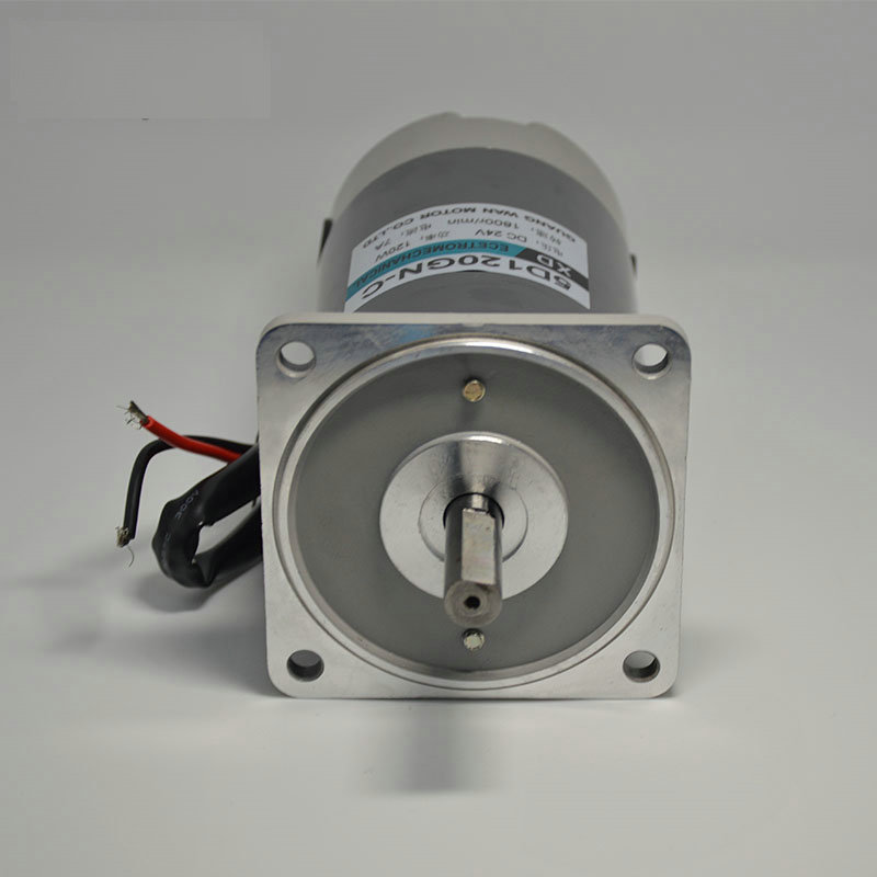 DC12V / 24V 120W 1800rpm XD-5D120GN-CC DC permanent magnet motor speed control motor reversing Equipment DIY Accessories dc220v 200w 1800rpm high speed permanent magnet motor reversing variable speed mechanical equipment powered diy accessories