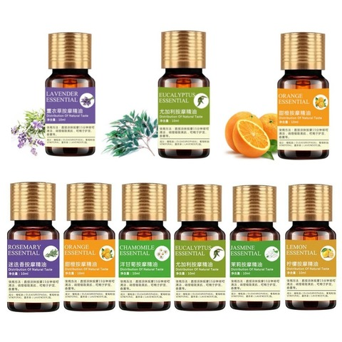 100% Pure Essential Oils For Aromatherapy Diffusers Natural Essential Oil Skin Care Lift Skin Plant Fragrance Oil Massage Oil Pakistan