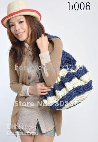 1PC high-grade quality goods straw bags/straw handbag/shoulder handbags/hand bags/shoulder bags