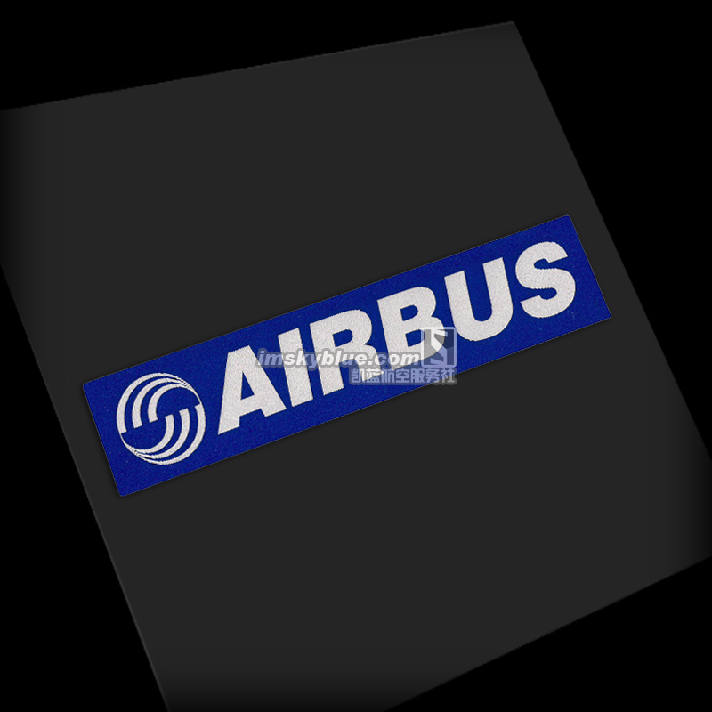 5PCS Airbus Logo Sticker Water Proof for Car Motorcycle Luggage Fridge for Aviation Lover Pilot Flight Crew