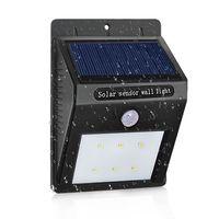 Waterproof LED Solar Lamp PIR Motion Sensor Solar Power LED Light Energy Saving Outdoor Garden Pathway