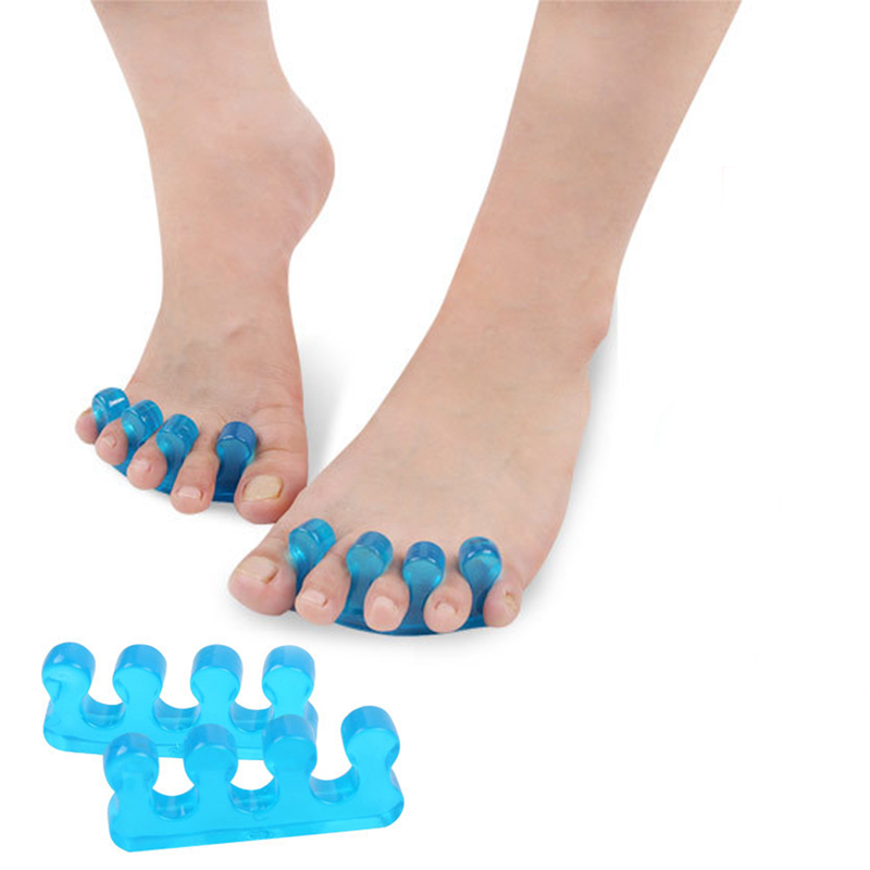 Silicone Soft Form Toe Separator / Finger Spacer For Manicure Pedicure Nail Tool Flexible Soft Silica