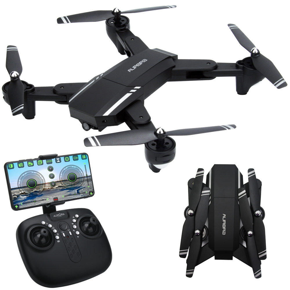 FPV Selfie Foldable Drone with 2MP HD Wide Angle Camera Altitude Hold RC Helicopter Quadcopter 8807w drone with 0 3mp hd camera or 2mp hd camera foldable rc quadcopter altitude hold helicopter wifi fpv pocket drone