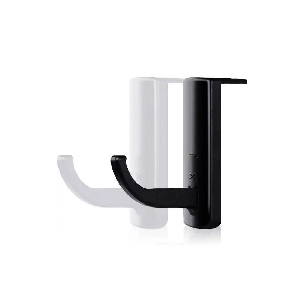 universal headphone acrylic headset earphone stand holder display for headphones bracket for ipad holder black rack hanger BINYEAE Black Headphones' Stand Universal Headphone Headset Holder Hanger Wall Hook PC Monitor Earphone Stand Rack Holder Aug18
