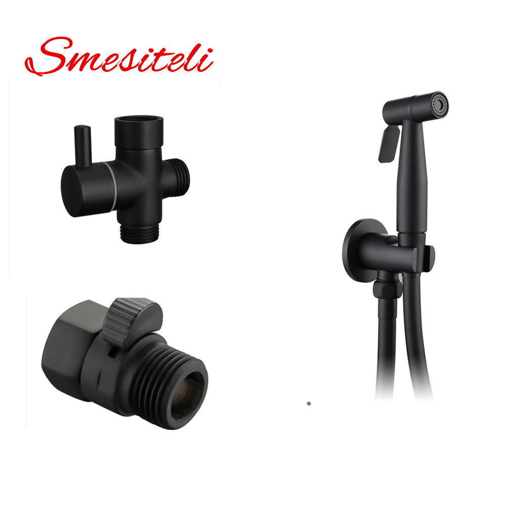 Smesiteli New Arrival Handheld Shower Spray Toilet tank Bidet Hygienic Wash Brass G1/2