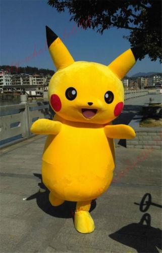 Halloween jurk Pikachu Mascotte Kostuum Cosplay spel - Carnavalskostuums