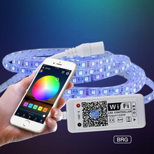 WIFI LED Controller DC 9V-28V Mobile app remote control smart With Android IOS APP Controller for LED Strip