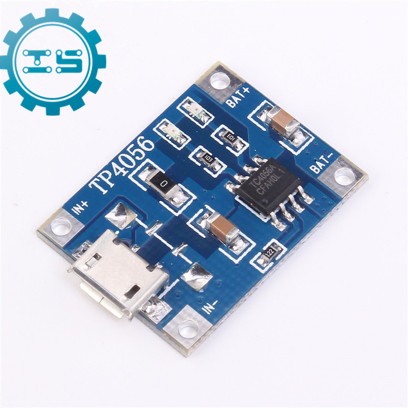 5Pcs TP4056 Micro USB 5V 1A 18650 Lithium Battery Charger Module Li-ion Battery Charging Board With Protection 18650 lithium battery 5v micro usb 1a charging board with protection charger module for arduino diy kit
