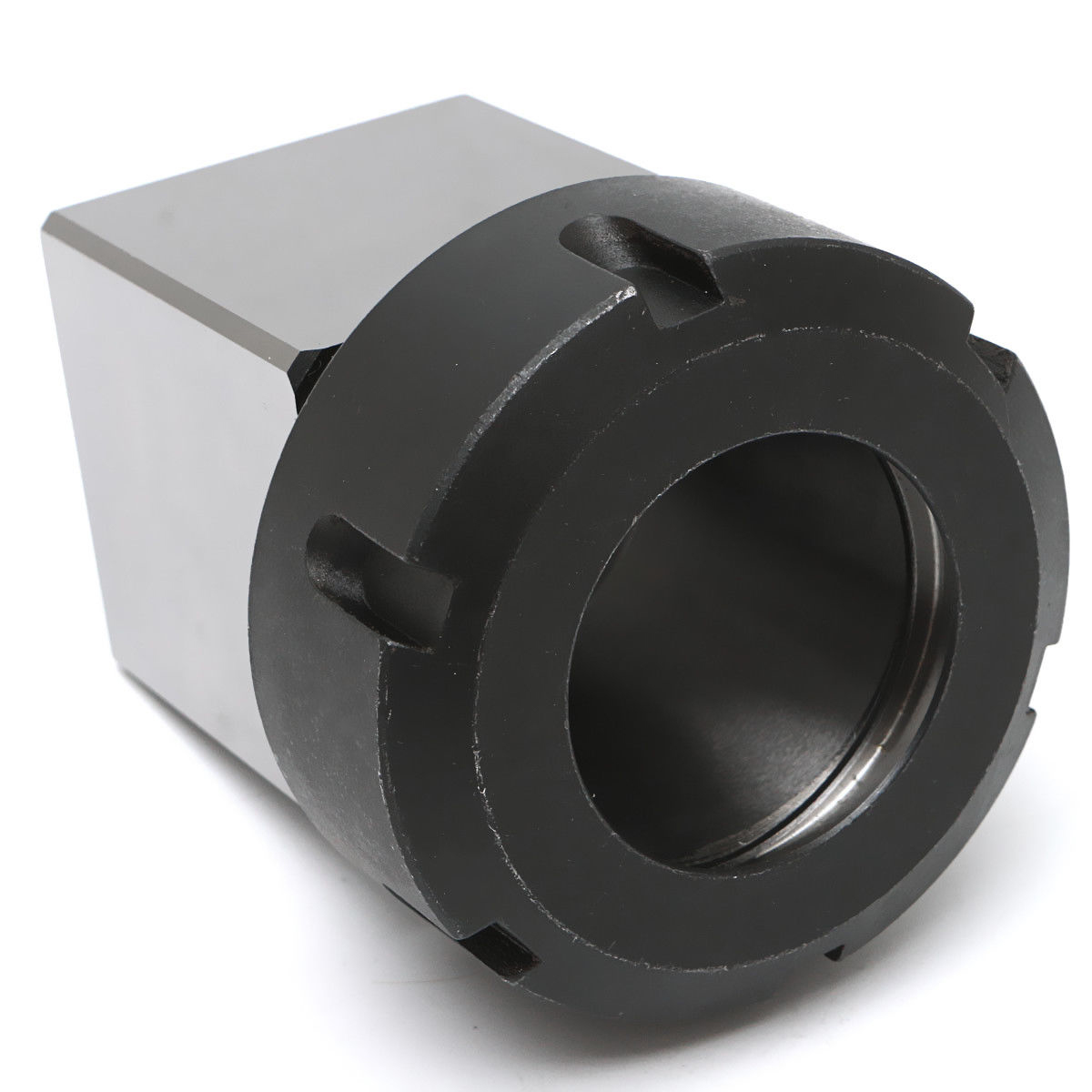 1pc High Strength ER-40  3900-5125 Square Collet Chuck Block Holder For CNC Lathe Engraving Machine 1pc square er40 collet chuck block holder 3900 5125 for cnc lathe engraving machine cross hole drilling