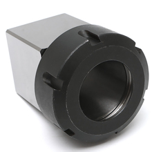 1pc High Strength ER-40  3900-5125 Square Collet Chuck Block Holder For CNC Lathe Engraving Machine