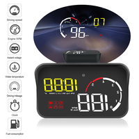LEEPEE Driving Safety OBD2 Overspeed Warning Car HUD Display Intelligent Alarm System M10 A100 Windshield Projector