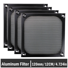 5PCS Gdstime 12cm Computer Cooling Fan Dustproof Mesh 120mm PC Case Dust Filter