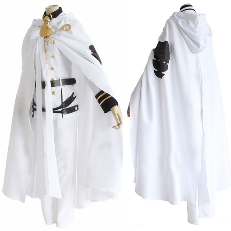 Owari no Seraph of the End Mikaela Hyakuya Cosplay Costume Attire Uniform Outfit