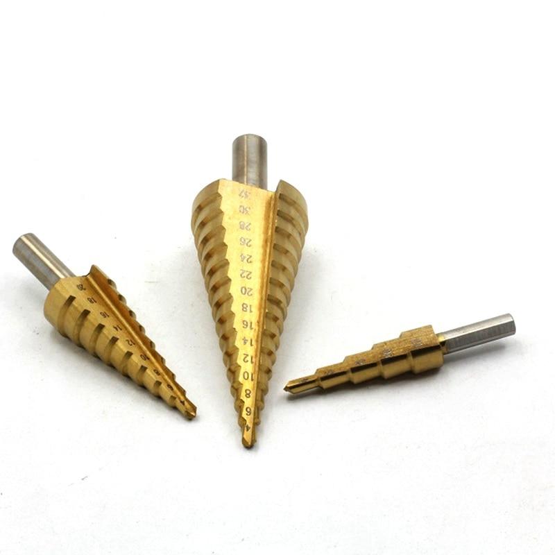 4-32mm titanium hss kegel, multifunctionele boorset, rechte groef - Boor - Foto 6