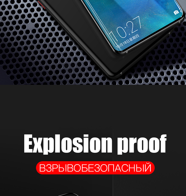 YINZHI Screen Protector Film ZC521TL 0.26mm 9H Surface Hardness Explosion-Proof Non-Full Screen Tempered Glass Screen Film Clear 50 PCS for ASUS ZenFone 3s Max