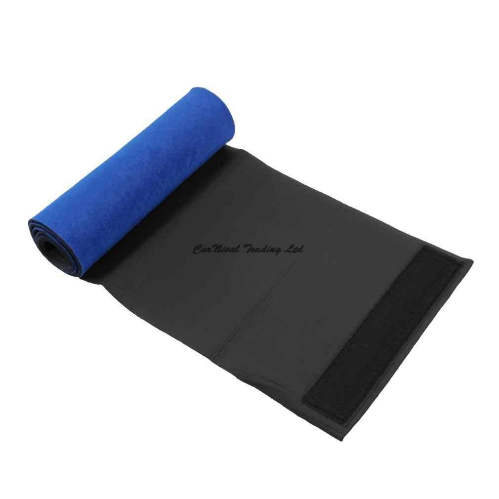 สีฟ้าสุขภาพลดไขมันเข็มขัด Abdomen Shaper Burn FAT ลดน้ำหนักฟิตเนสไขมันเซลลูไลท์ Slimming Body Shaper เข็มขัดเอว Neoprene