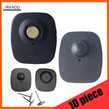 10 шт. практика безопасности тег для eas магнитный противокражный датчик ткань сигнализации тег