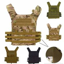 jpc 600D Hunting Tactical Vest Military Molle Plate Carrier Magazine Airsoft Paintball CS Outdoor Protective Lightweight Vest(China)