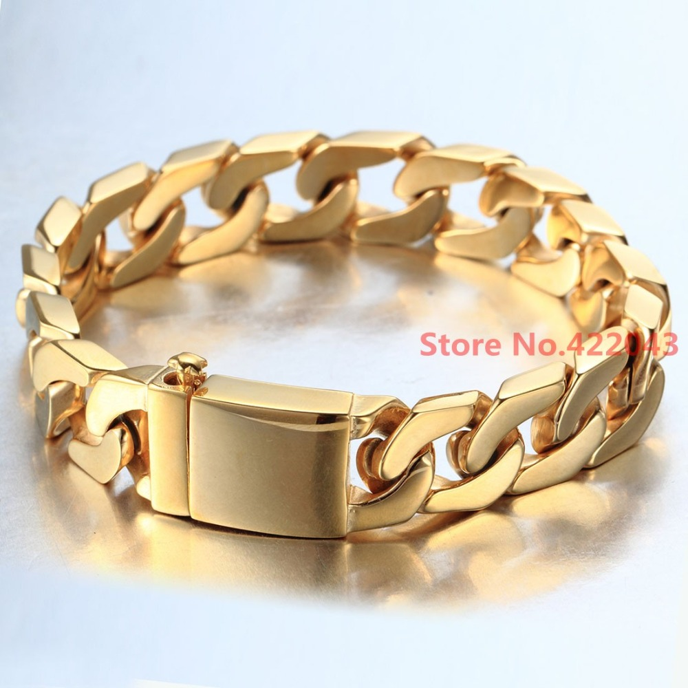 Factory Price 100 Stainless Steel font b Bracelet b font 8 66 12mm font b Jewelry