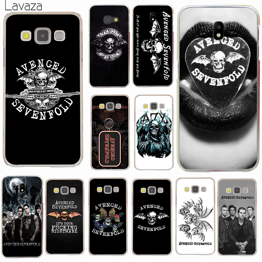 Lavaza Avenged Sevenfold A7X Shadows Hard Phone Case For Samsung Galaxy J7 J3 J1 J2 J5 2015 2016 Prime 2017 EU US Version In Half Wrapped From