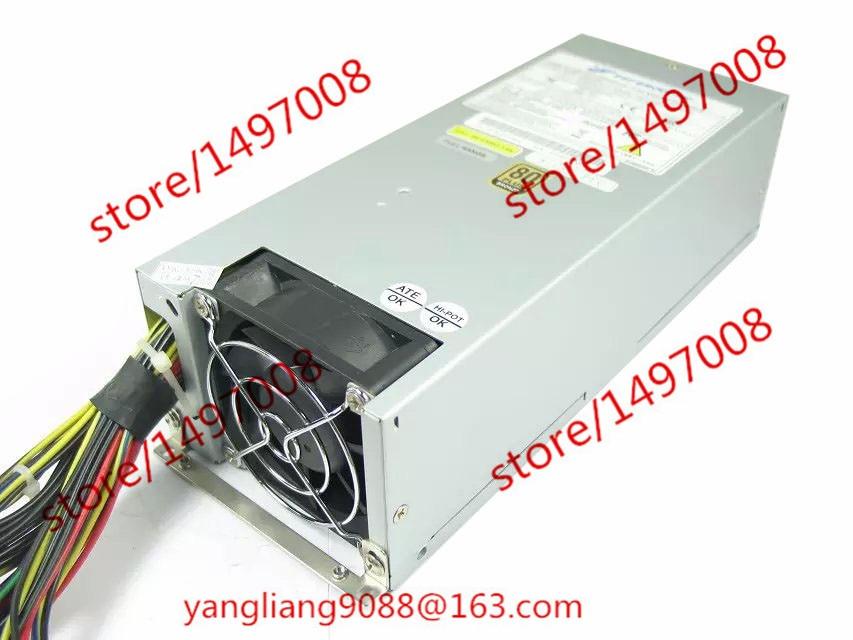 Emacro FSP 2u fsp600-702uh Номинальная 600 Вт Тихая сервер Мощность 80 plus бронза ...