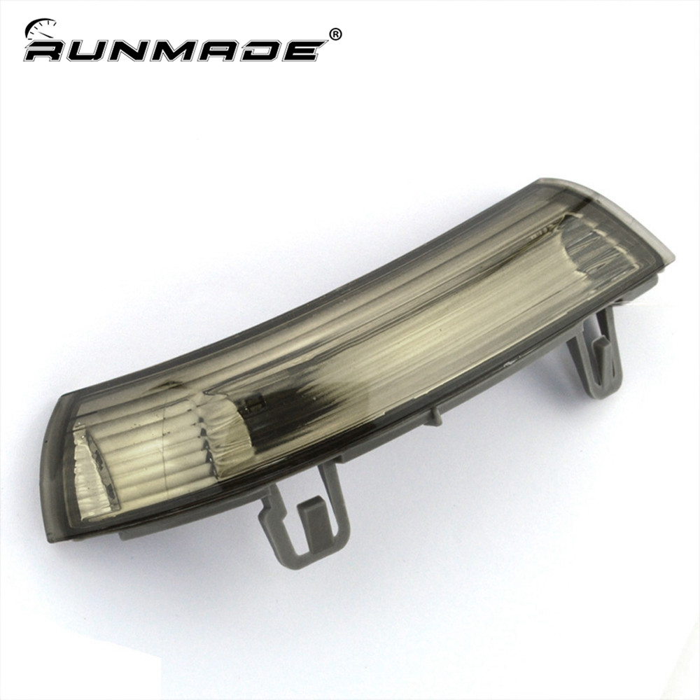 runmade For VW Jetta Golf MK5 Passat EOS Wing Mirror Steering Lamp Rear View Mirror Turn Signal Light Left Side 1K0949101 wing mirror glass indicator for vw golf 5