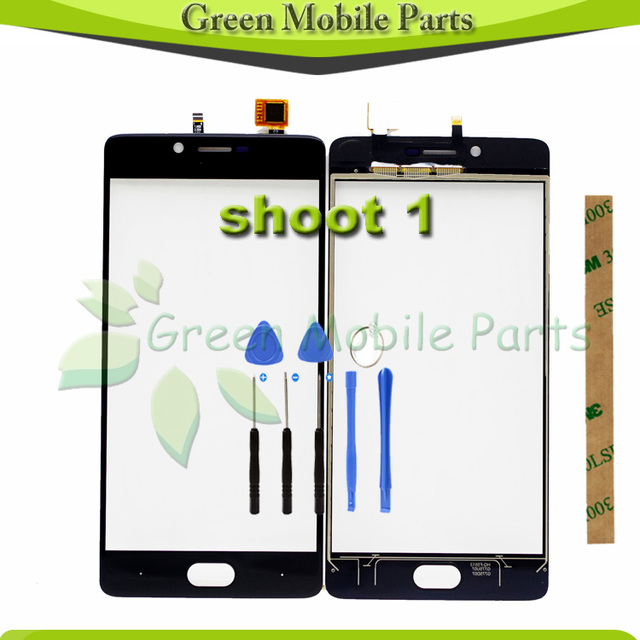 100% Tested Touchscreen Sensor For Doogee Shoot 1 Touch Screen Digitizer Front Glass Lens Panel Replacement