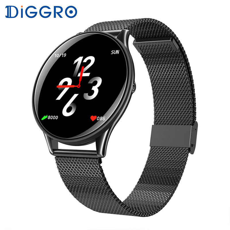 Diggro SN58 Smart Watch Waterproof Heart Rate Blood Pressure Touch Screen Bluetooth Smartwatch Bracelet For Android IOS PK Q8