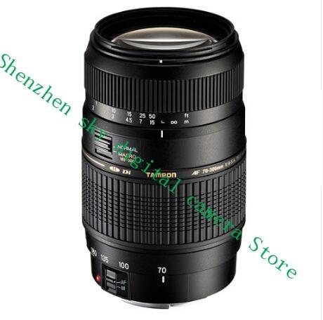 цена на AF 70-300mm F4-5.6 Di LD Macro telephoto lens For Nikon D3300 D5200 D5300 D5500 D90 D60 D40X D3200 D3400 SLR (For Tamron A17)