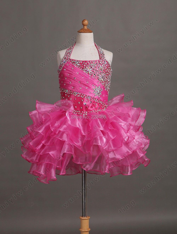 vestidos rosa neon para nina