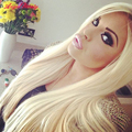 Angel Beauty Hair Clip in Human Hair Extensions 100% Remy Human Hair Blonde Human Hair Clip In Extensions 100G