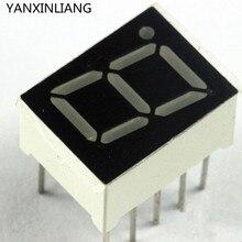 10 светодио дный шт. 0,56 дюйм(ов) 7 сегмент 1 цифровой светодиодный дисплей Супер Красный общий катод