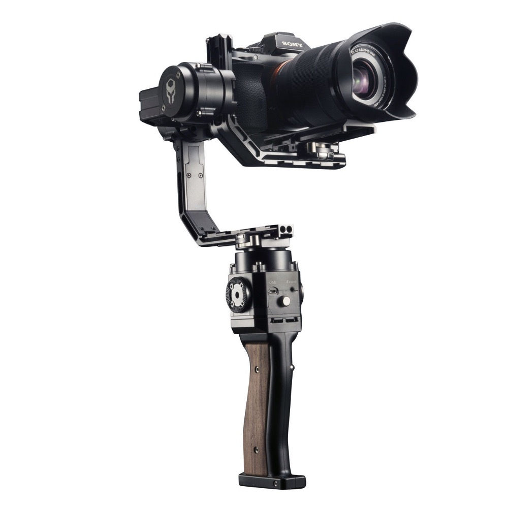 Gravity 3 Axis Stabilizer DSLR Handheld Gimbal load 3KG for SONY Mirrorless DSLR font b Smartphone
