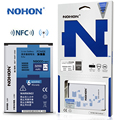 Mejor calidad nohon batería original para samsung galaxy note 3 note3 n9000 n9008 n9002 n9009 n8000be 3200 mah acumulador nfc
