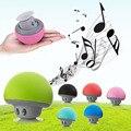 Cogumelo mini sem fio bluetooth speaker portátil à prova d' água estéreo bluetooth speaker com microfone para iphone samsung xiaomi