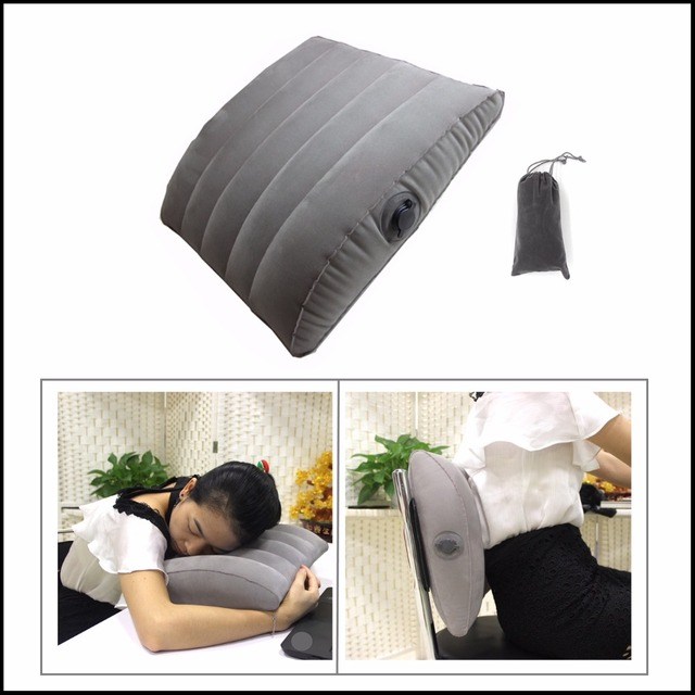 inflatable back cushion lumbar back support cushion relief pillow