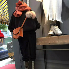 Дети хлопок одежда набор baby дети мужская волосы мяч свитер с длинным рукавом + твердые длинные брюки 2 шт. костюм дети о-образным вырезом свитер костюм