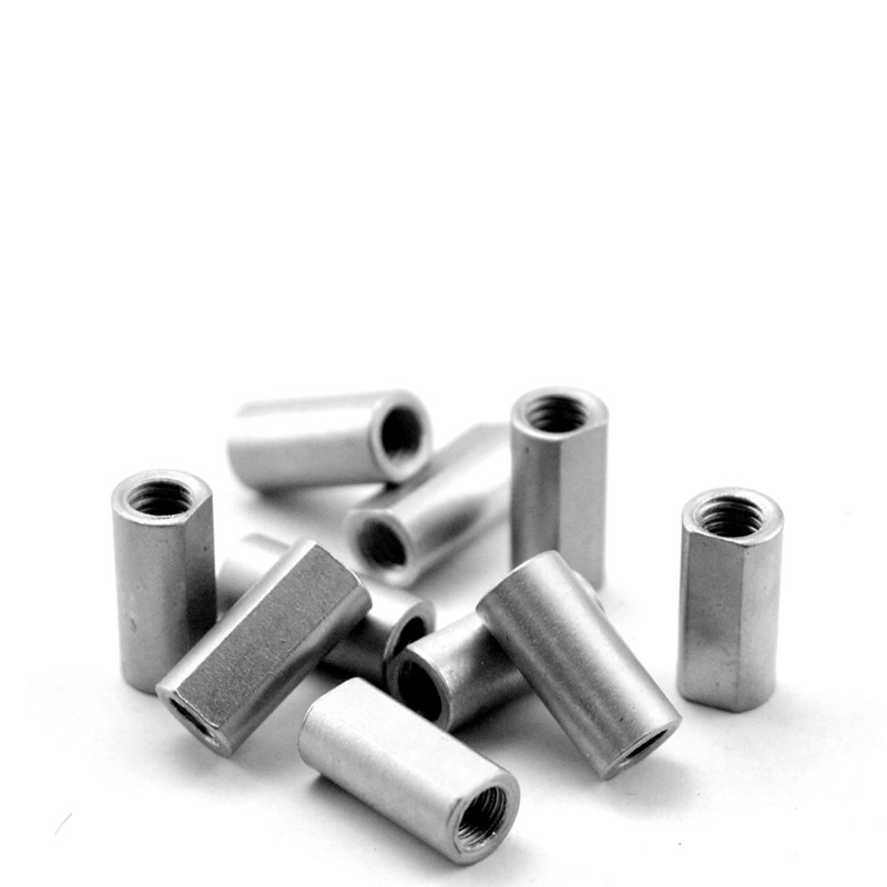 M3 screw connecting stud round stud connecting rod stainless steel connecting rod tooth screw connecting column 10pcs in Screwdriver from Tools