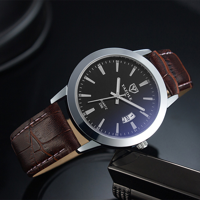 Mens Watches Top Brand Luxury Quartz Watch Yazole New Fashion Casual Business Wristwatches Male Watch Relogio Masculino dropship mens watches top brand luxury quartz oukeshi fashion casual business watch male wristwatches quartz watch relogio masculino