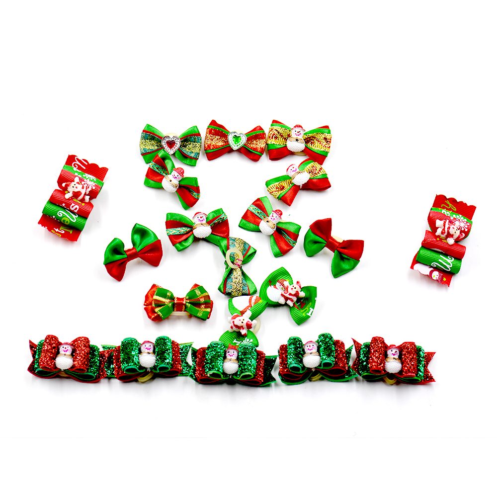 Online Buy Wholesale Christmas Dog Bows From China