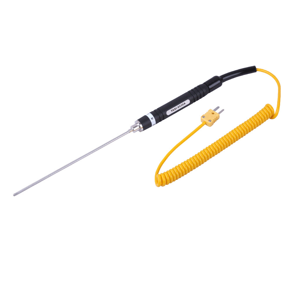 TASI-8530A K-type Temperature Probe thermocouple needle liquid range -50 ~ 500C Probe length: Lead length: 1000mm ruil 2017 high capacity backpack men s travel durable schoolbag laptop large capacity computer bag