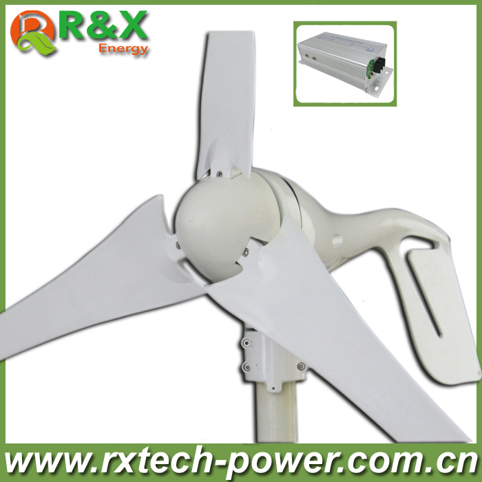 Small home wind turbine generator 12V/24V optional wind generation, 400W wind power generator with wind controller. free shipping 600w wind grid tie inverter with lcd data for 12v 24v ac wind turbine 90 260vac no need controller and battery