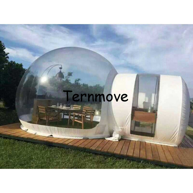 clear Inflatable Bubble C&ing TentOutdoor inflatable lawn tentscommercial gazebo temporary warehouse tent  sc 1 st  AliExpress.com & clear Inflatable Bubble Camping TentOutdoor inflatable lawn tents ...