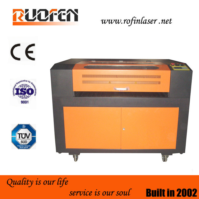optical and high precision hot sales co2 laser cutting machine