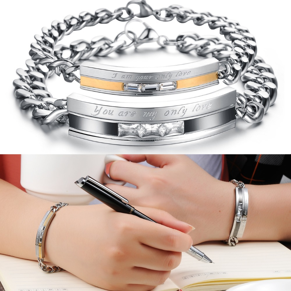 Compare Prices on Promise Bracelets for Couples- Online Shopping ...