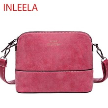 INLEELA Hot Sale Vintage  Women Bag Nubuck Shoulder Bags Small Crossbody Bags Fashion Women Messenger Bags