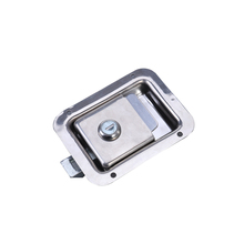 Durable Stainless Steel Paddle Handle Lock Door Latch Heavy Duty Flush Mount